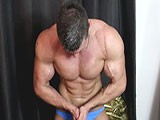 Gay Porn from joshuaarmstrong - My-Horny-Big-Blue-Bulge