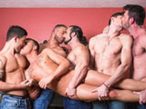 Brandon Wilde's First GangBang