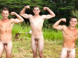 Gay Porn from islandstuds - Naked-Rifle-Range-Jocks