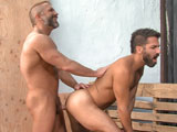 Gay Porn from TitanMen - Blueprint-Dirk-Caber-And-Adam-Ramzi