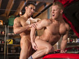 Gay Porn from RagingStallion - Drive-Shaft
