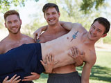 Gay Porn from corbinfisher - Ellis-Gets-Double-Dicked