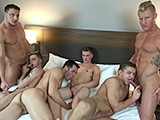 Gay Porn from JasonSparksLive - Card-Game-Turns-Into-Group-Sex
