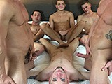 Gay Porn from americanmusclehunks - Muscled-Group-Sex