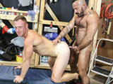Gay Porn Video from Men Over 30 - Maintenance Fuckers Part 2
