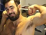 Gay Porn from AmateursDoIt - Bearded-Fleshlight-Selfiesolo