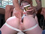 Gay Porn from CazzoClub - Piggy-Gay-Fisting