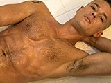 Gay Porn from americanmusclehunks - Hairy-Muscle-Solo