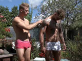 Gay Porn from englishlads - Hunks-Dan-And-Danny-Getting-Their-1st-Man-Wank