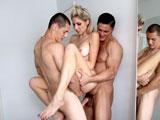 Vince Cruz Zach Douglas and Heather Kelly MMF Threesome