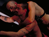 Gay Porn Video from Club Inferno Dungeon - Hand Over Fist