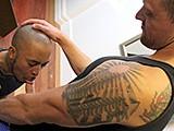 Gay Porn from AmateursDoIt - Amateur-Interracial-Grinding