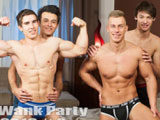 Gay Porn Video from William Higgins - Wank Party 2016 2 Part 2 R