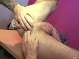 gay porn The Cable Guy || Harley Everett is experiencing Internet downtime at the hands of IT rascal Scott Hunter who wants an excuse to spend time with his office crush. Clever fucker that he is, Scott finds a way to pull up MEN.COM and is soon getting sucked, rimmed and ass fucked on Harleys desk!