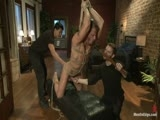 gay porn Jeremy Stevens And Seb || Jeremy Stevens fights off two intruders and ends up bound and edged.