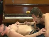 gay porn Justin And Adam Dacre || Adam Dacre Fucks Justin's Juicy Hole All Over the Piano