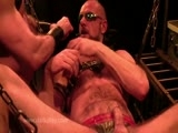gay porn Punch Fuck Sling Meat || When It Comes to a Good Fisting Lesson, It Really Doesn't Get Any Better Than the Fist Master.  Matthias Gives Fisting Bottom Mike James a Spin on His Fists Punch-fucking the Daylights Out of Him While He Pleads for More.