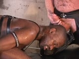 gay porn Roman Gets Fucked And  || Roman gets his hungry black hole fucked, fisted, pissed in, pissed on and bred by huge white and Latino muscle cocks while he sucks load after load of piss.  Marcelo fists him and Nick breeds him.