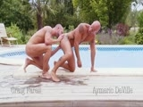 gay porn Craig Farell Aymeric D || What Are Two Hung Studs to Do When Rain Stops Them Playing In the Pool