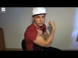 Smooth Amateur Bodybuilder Lex P Hot Flex and Jerk