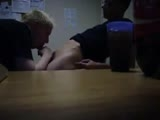 gay porn Office Blowjob || Getting My Cock Blown by a Coworker.<br />