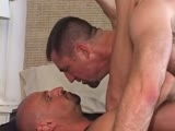 gay porn Zack And Kirk 2 || Power muscle bottom, Kirk, takes a room in San Francisco during Folsom and immediately starts collecting loads.  He invites Zack up to his flat to dump a load in his ass.  Kirk worships Zack's body, then Zack plows a nice, thick load into Kirk's hungry guts.