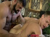 gay porn Darius And Rogan Richa || Hairy Sailor Rogan Richards Gets Overly Familiar With Smooth Muscular Stud Darius Ferdynand and Fucks His Tight Little Arse Over a Vaulting Horse Before Squirting a Hot Load Down His Chest
