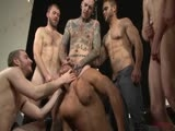 Gay Porn from BoundInPublic - Seth-Santoro-Brock-Avery-And-Connor-Maguire