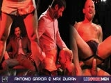 Our Favourite 'fuck Loving Criminal' Antonio Garcia Is on the Hunt for 4 Names, 4 Men With a Secret, the 1st Leads Him to a Dark, Dingy Sex Club and the Overly Intimate Attentions of a Go Go Dancer - Max Duran.