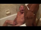 gay sex porn Drinking Black Master || Tj Gets Pissed on By his Black Master.<br />