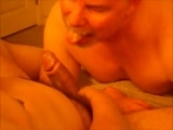 gay porn Double-trouble Oral Or || Double Dose of Cum for Me When Bi Studs J. and V. Decide to Team Up and Work My Pie-hole Over.