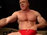 gay porn Sexy Muscle Daddy || Sexy Muscle Daddy Plays With His Cock