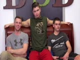 Gay Porn from brokestraightboys - Tanner-And-Brandon-And-Tyler-Fuck-Raw
