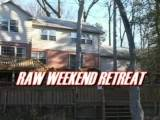 Ardon Masters is back with a vengeance in RAW WEEKEND RETREAT. ??Ardon and friends take the motorhome and go on a weekend retreat to a private home located on a scenic river and deep in the woods. As the temperature outside begins to drop the temperature inside begins to heat up as Ardon fucks his way from one friend to another. ??From the bedroom, to the motorhome to a hot and steamy fuck with Seth Alexander in front of the fireplace, Ardon proves that he can top with the best of them. He pounds hard, he pounds fast and he pounds non-stop till he's spurting his man juice up hot, willing, eager holes and then feeding it to his bottom boys as it runs out of their hungry holes. But, Ardon doesn't stop there! He proves he can take it as good as he gives it when Scott Daniels and his huge 9 1/2 inch wanger, plows Ardon long and deep in the bedroom and then, in front of the fireplace as Seth Alexander flips Ardon over and ravages Ardon's hole with reckless fury.??The three way in the motorhome is a sight to behold as Ardon and Seth take turns fucking tiny Tim Skyler's sweet little pucker hole till Tim is screaming with delight and the man jizz is flying.??Definitely a film that all Ardon Masters fans will want to add to their library.