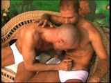 These Sicilian boys love bare ass naked playing with each other under the cover of a shady patio! They are noticed by a director, and watch the breathtaking scenes that cum out of that afternoon in the sun.