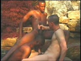 "Deep in the South of Atlanta, is a secret hidden place where ongoing orgies are held. No one knows about the rock orgy unless you know one of the eight hot hung guys to get invited. Once you're there, you'll stay hard the whole time. Super Hung ""Bam"" well endowed ""Da Poka Man"" and Mega Meat ""Michael Brandon"" pulsate the Gang Bang to the hilt. If you like ""Big Dicks"" and ""Aggressive Hungry Bottoms"" this video shot outdo"