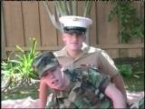 Gay Porn from WankOffWorld - Army--Cadet-Marine-Dude