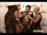 Adiriana & Cameron Ross Interview HustlaBall London 2009