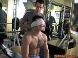 Muscle Boy Abused In Gym ||