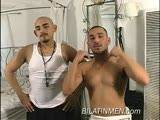 These 2 guys by have fantasy sexual he likes boy ass,Jacking off and sucking cock in the room.