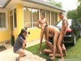 Visconti Triplets Backstage Carwash Scene