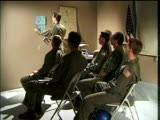 These test pilots are in class for some heavy duty flight training. Apparently they think they're going to shoot down the evil enemy with wads and wads of hot cum!