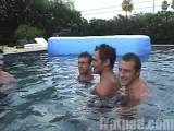 The Fratguys compete in pool type games.