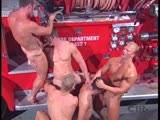 FIREMEN! Men ready to slide down a slick pole and give mouth-to-mouth, what more could your big dick and tight ass want? Hunky men 'cum' in droves to put out fires and even start a few.