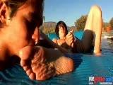 Toegasms-pool Boy Feet ||