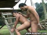 Latino Outdoor Bareback ||