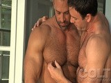 gay porn Nate Karlton And Mitch Branson || A beautiful summer morning and Nate Karlton is enjoying the new day on the back patio. He is soon joined by a shirtless Mitch Branson, and when two HOT BODS like these get this close... well there's nothing to stop the immediate passion that ignites between them. 