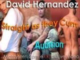 New Yorker David Hernadez has a great body, nice hard cock, but he is as Straight as they Cum. Watch him give flex his muscles and strokes his cock on MightyMen.Com