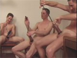 Group Penis Pumping Action ||