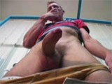 This hot young amateur agreed to show us his erect cock in a public toilet and more !
